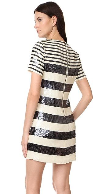 Veronica Beard Evan Sequin T-Shirt Dress