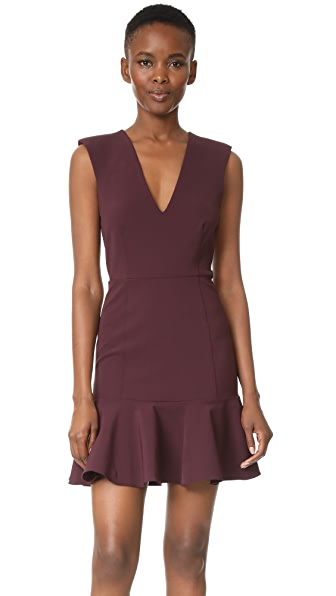 Veronica Beard Scarlet Dress - Bordeaux