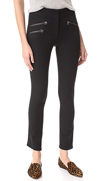 Veronica Beard Adelaide Cropped Pants - Black