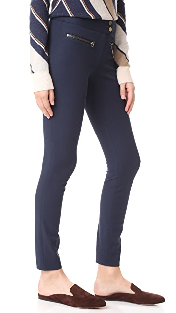 Veronica Beard Full Length Skinny Pants