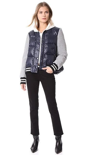 Veronica Beard Lennon Swing Puffer Jacket