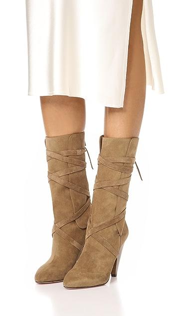 Veronica Beard Hall Heel Boots