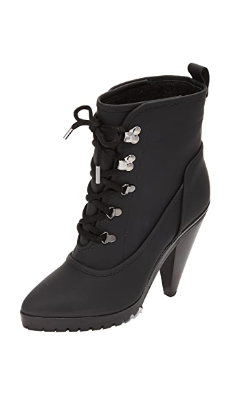 Veronica Beard Charley Heel Booties In Black