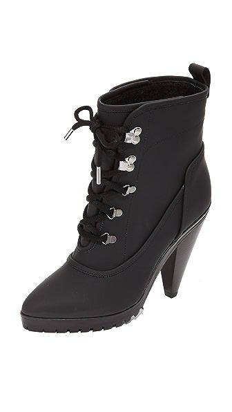 Veronica Beard Charley Heel Booties - Black