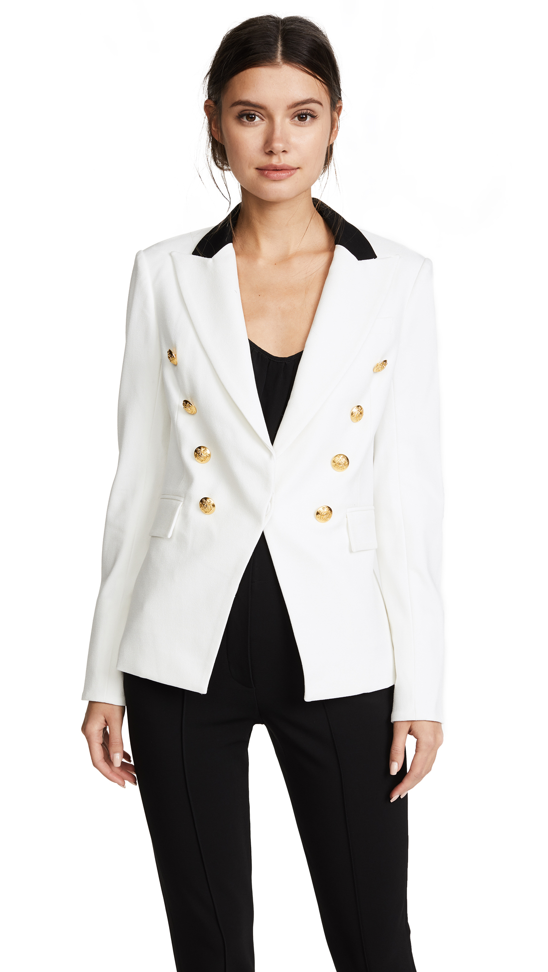 Veronica Beard Jack Riding Jacket - White