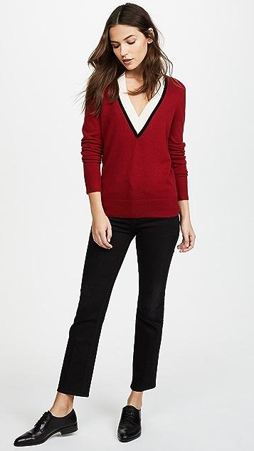 Veronica Beard Barrett Cashmere Sweater