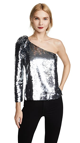 Veronica Beard Lantana Sequin Top