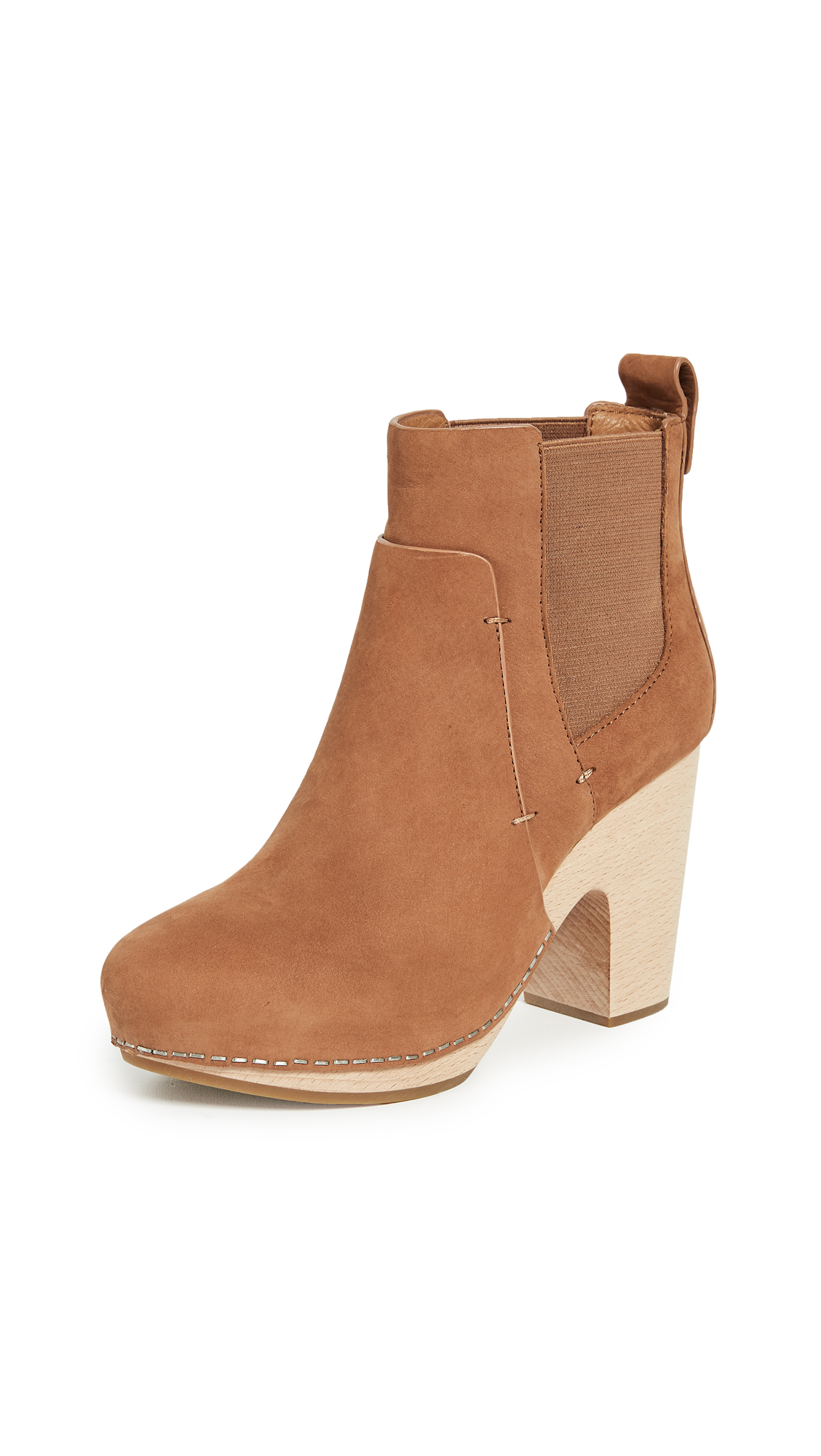 Veronica Beard Camila Booties - Cognac