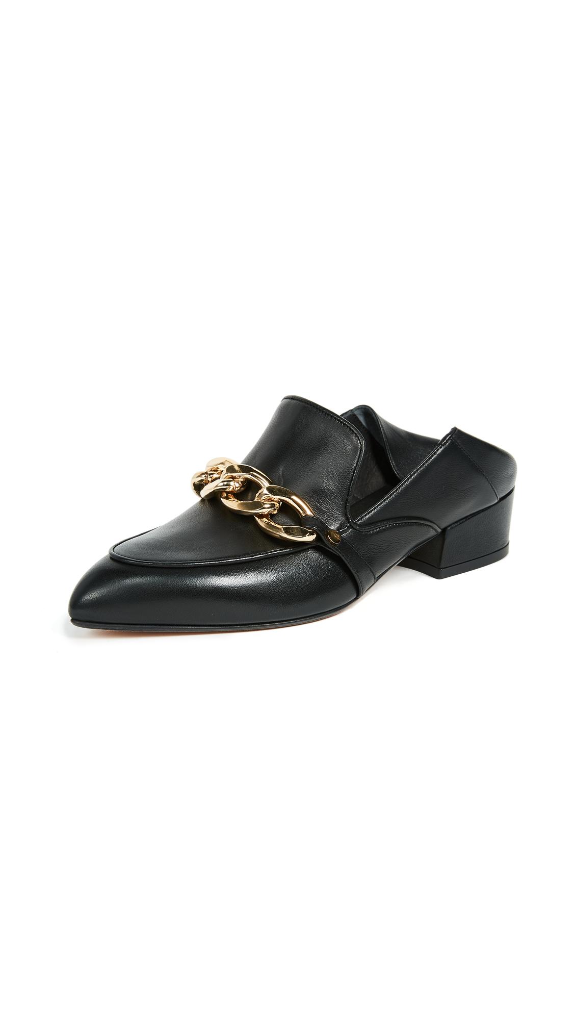 Veronica Beard Jaxon Loafers - Black