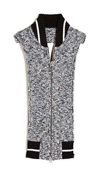 Veronica Beard Morse Tweed Dickey at Shopbop