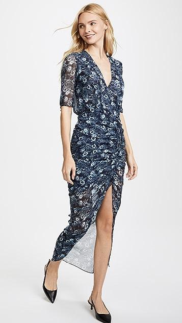 Veronica Beard Mariposa Midi Dress