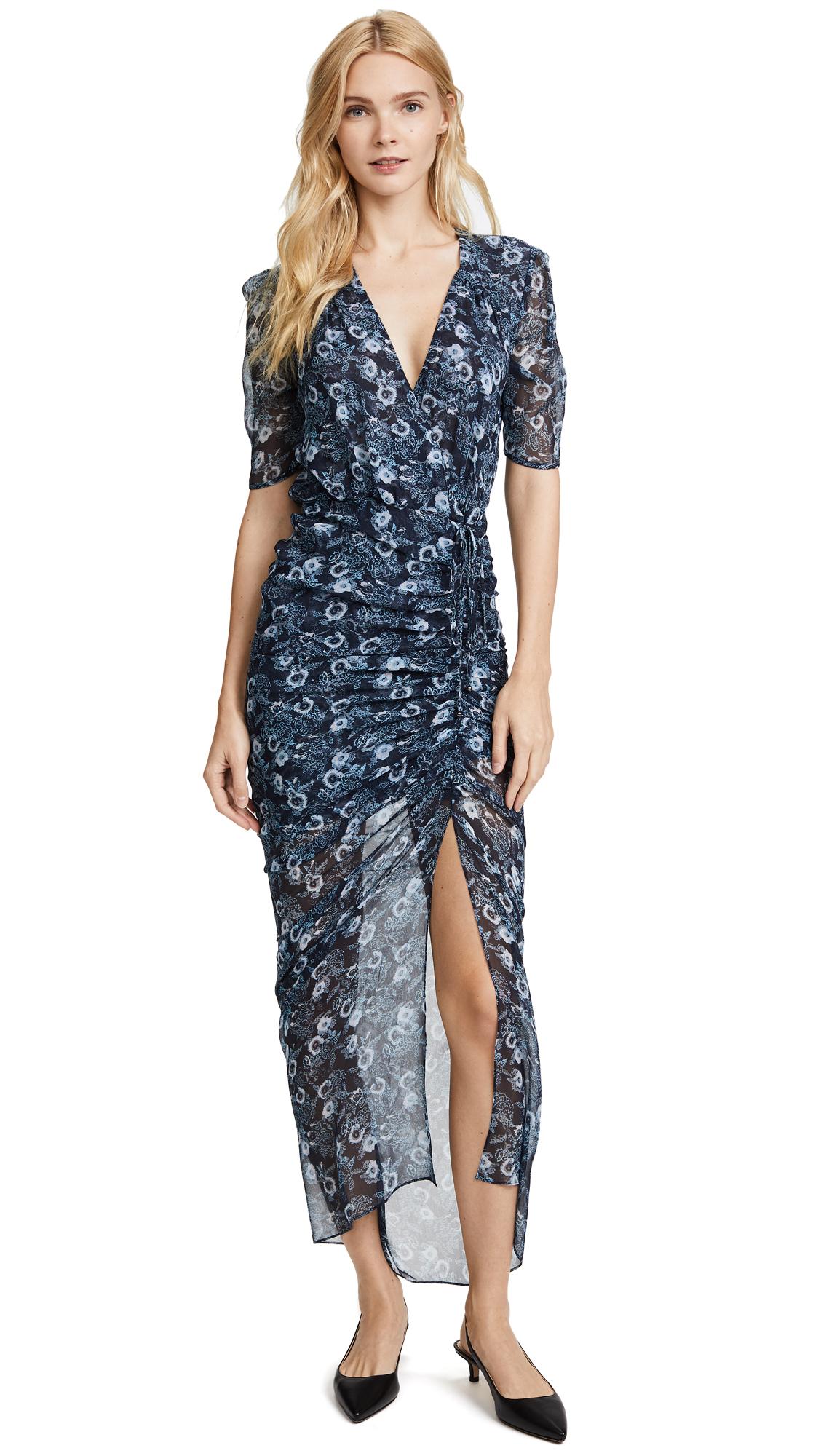 Veronica Beard Mariposa Midi Dress - Blue