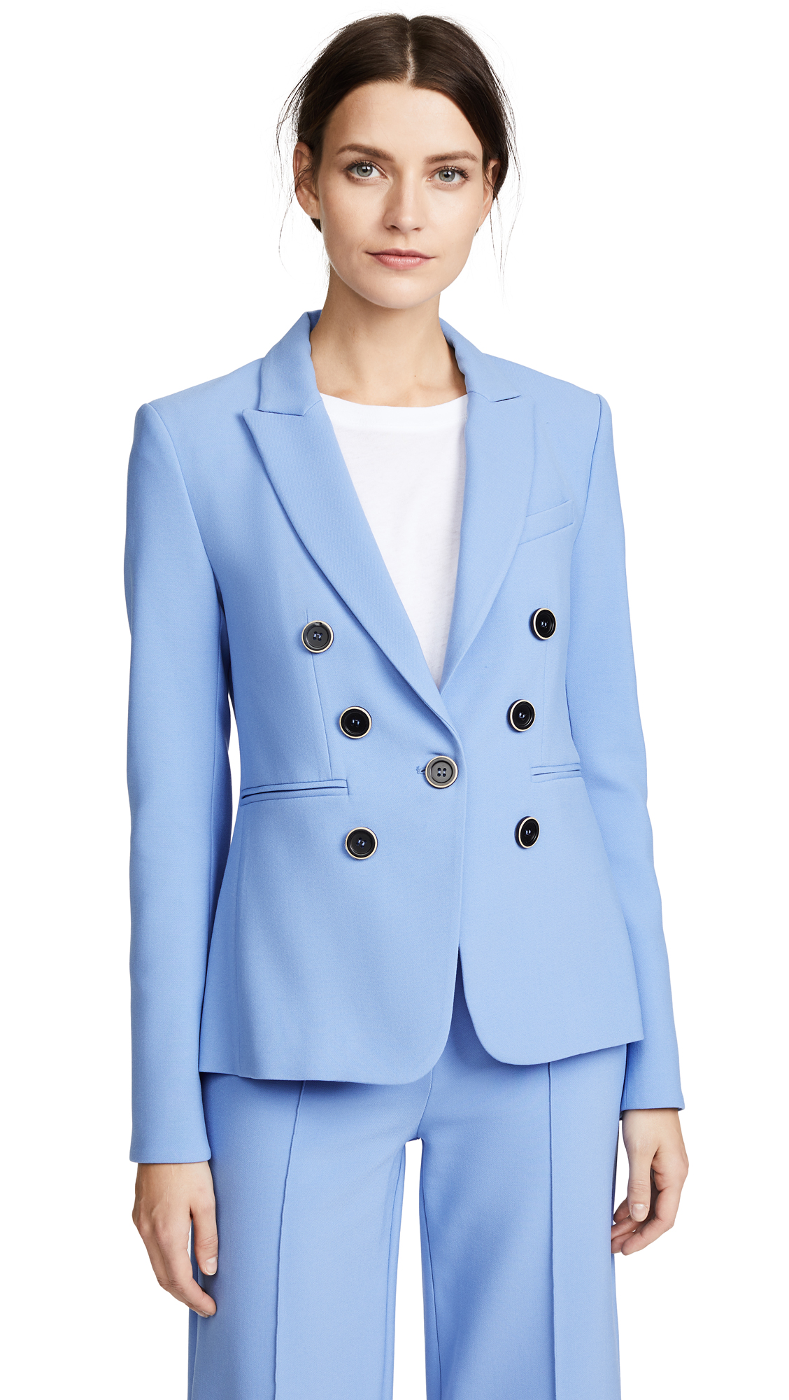 Veronica Beard Colson Dickey Jacket In Blue