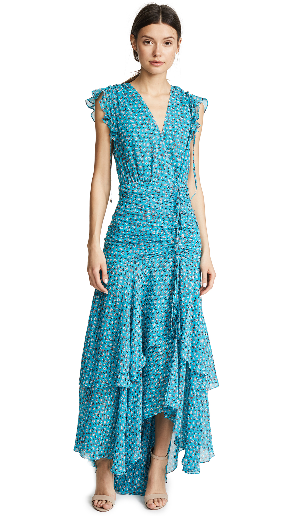 Veronica Beard Samara Dress In Blue