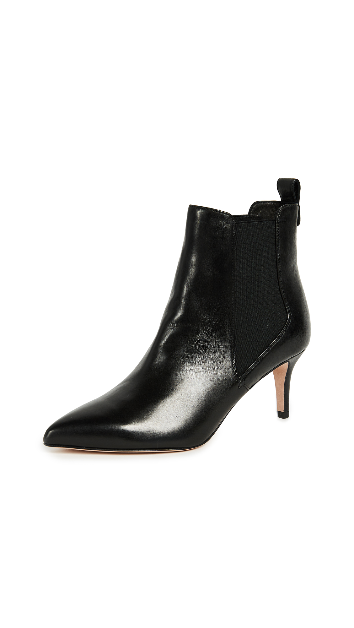 Veronica Beard Parker Chelsea Booties - Black