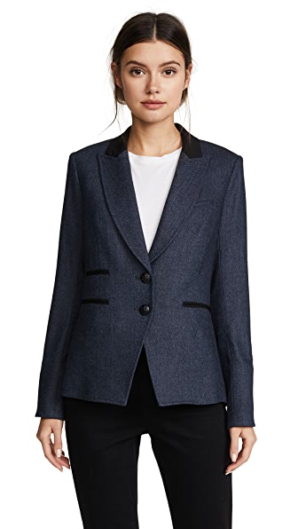 Veronica Beard Hudson Jacket In Blue