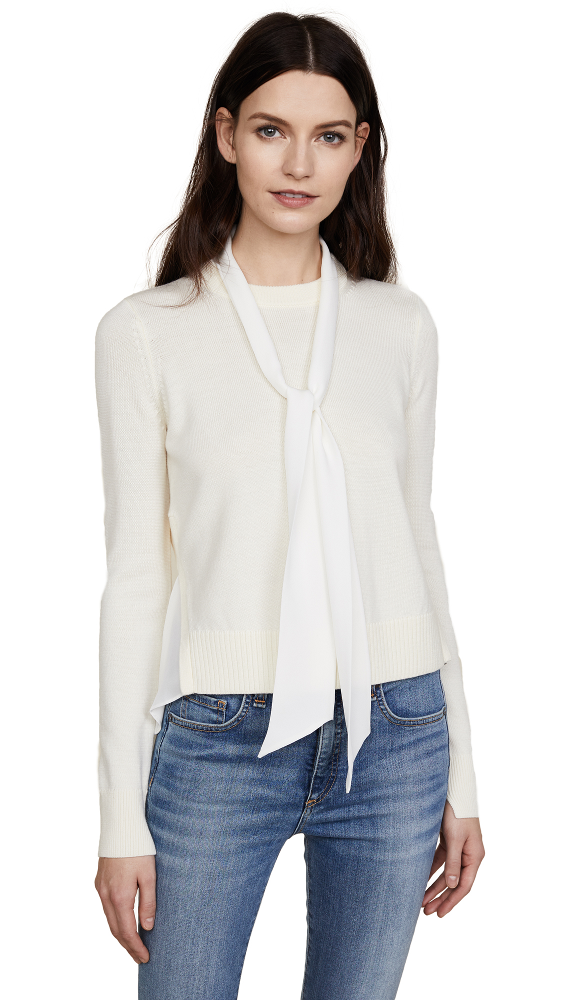 Veronica Beard Concord Sweater - Ivory
