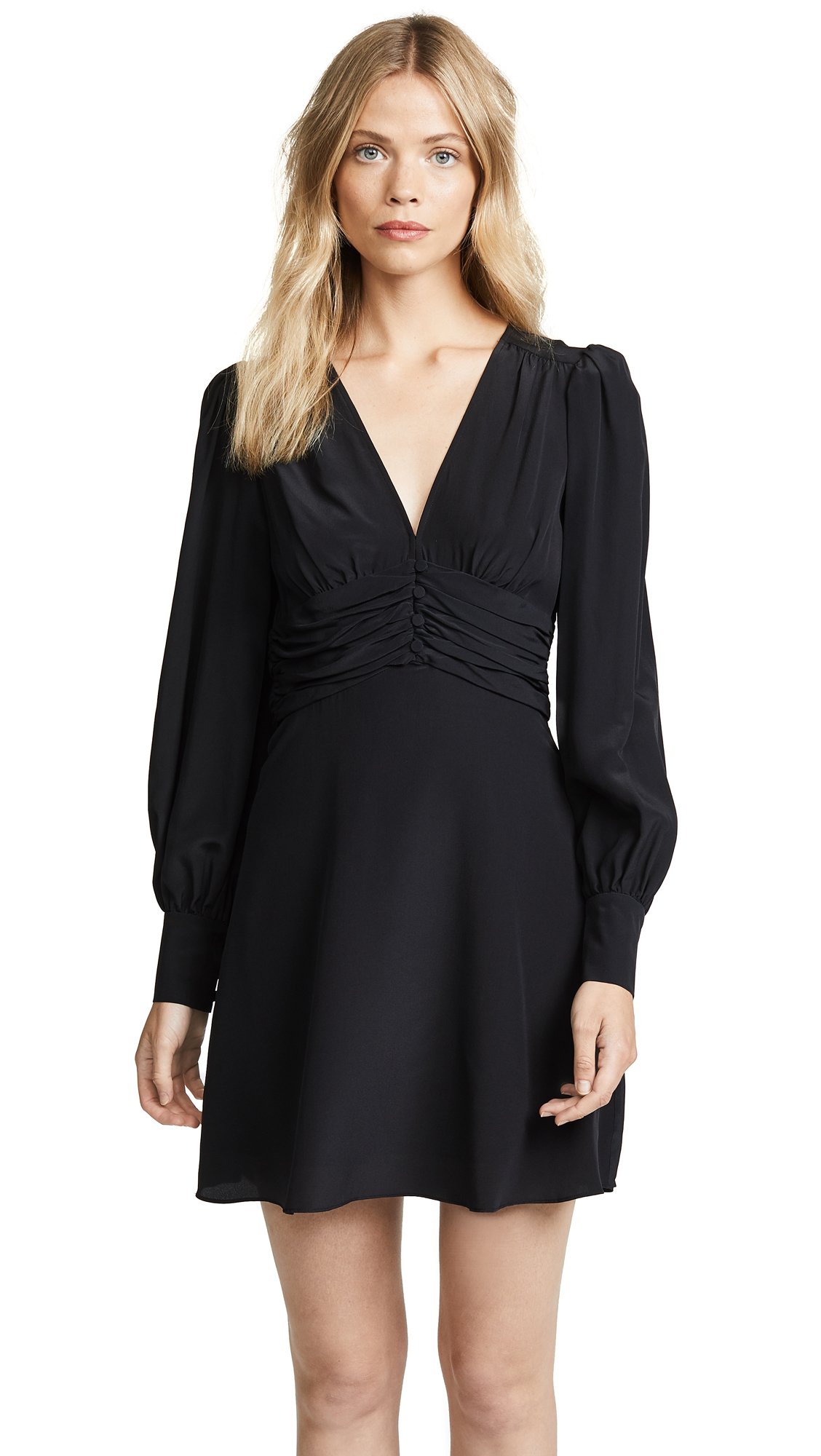 Veronica Beard Marion Dress In Black