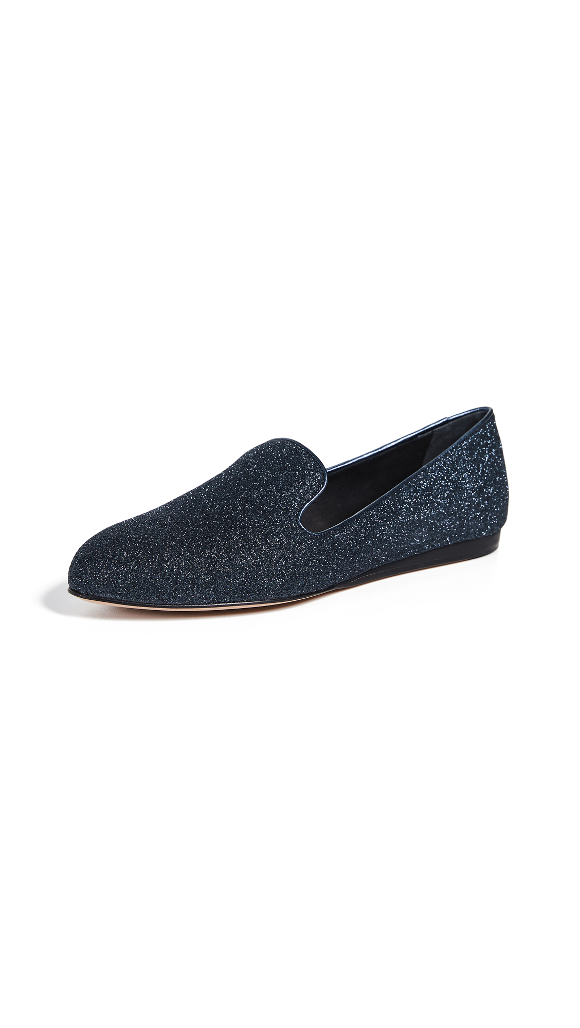 Veronica Beard Griffin Flats - Midnight