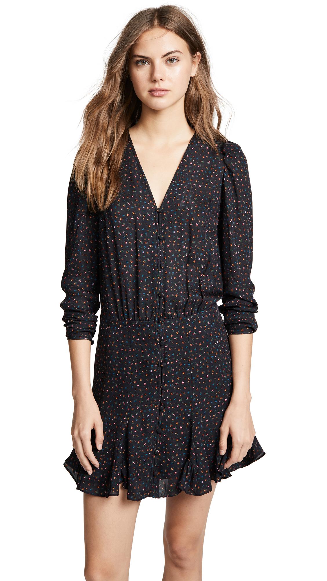 Veronica Beard Riggins Dress - Black Multi