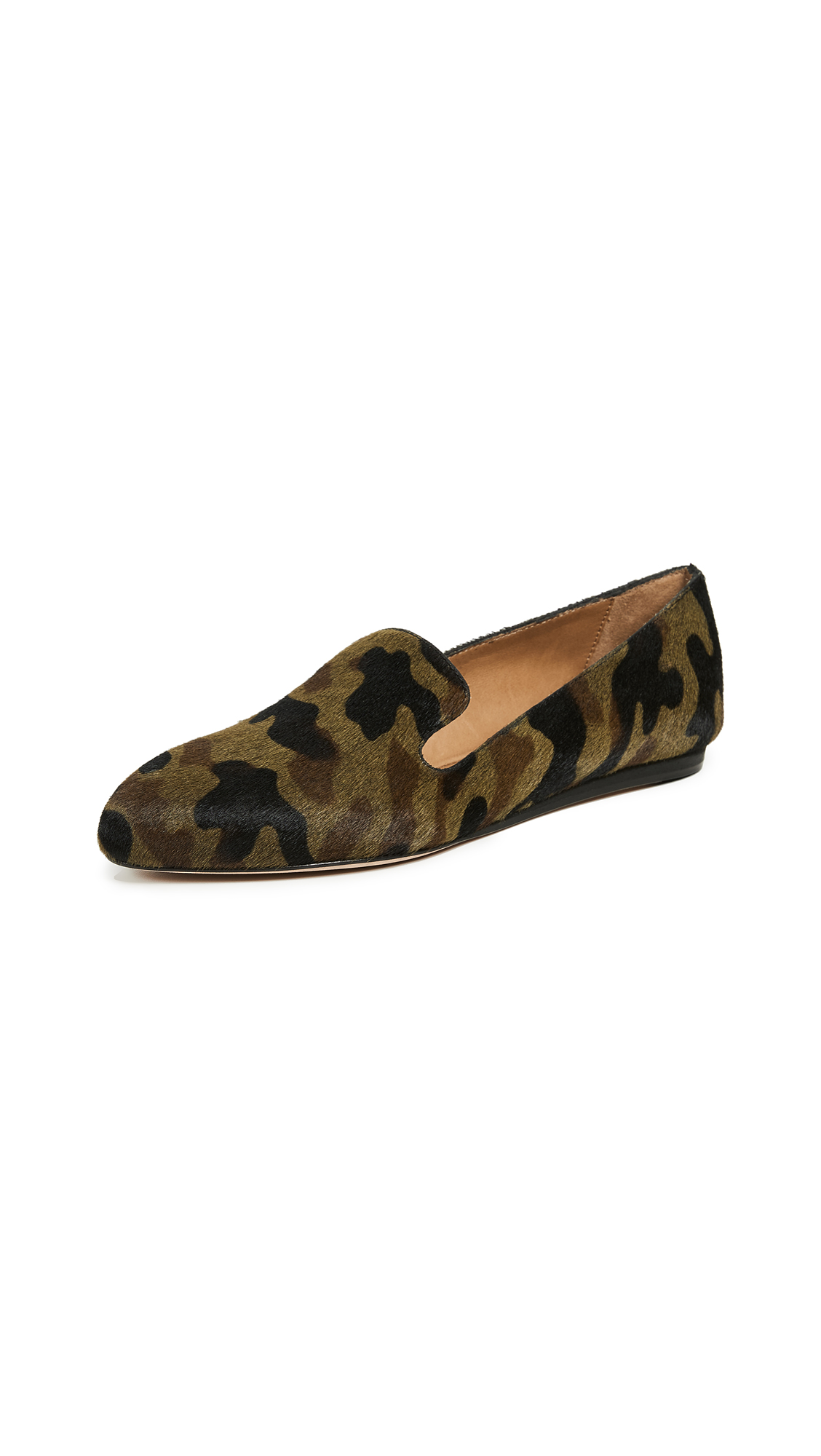 Veronica Beard Griffin Flats - Camo