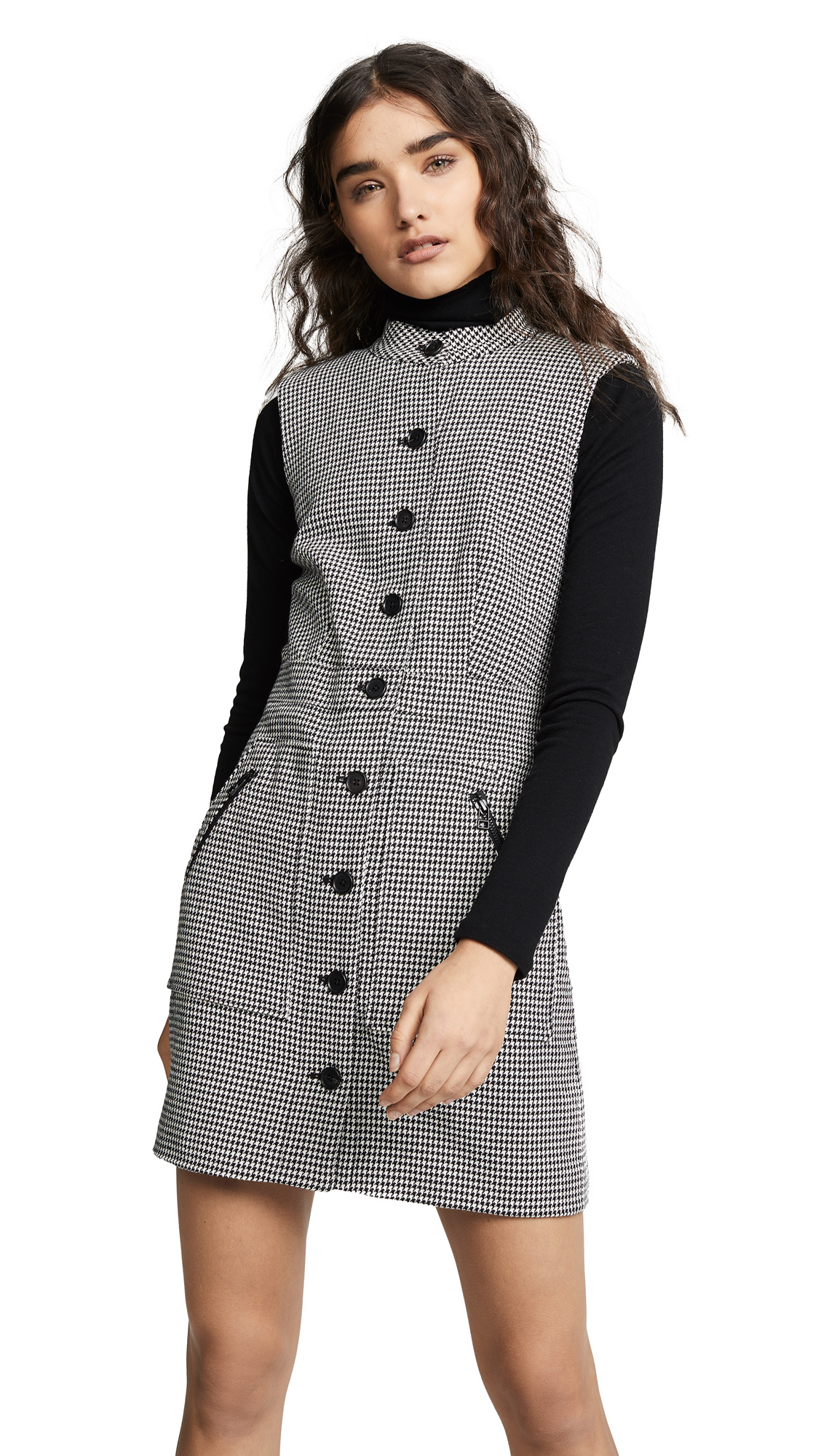 Veronica Beard Leigh Dress - Black/White