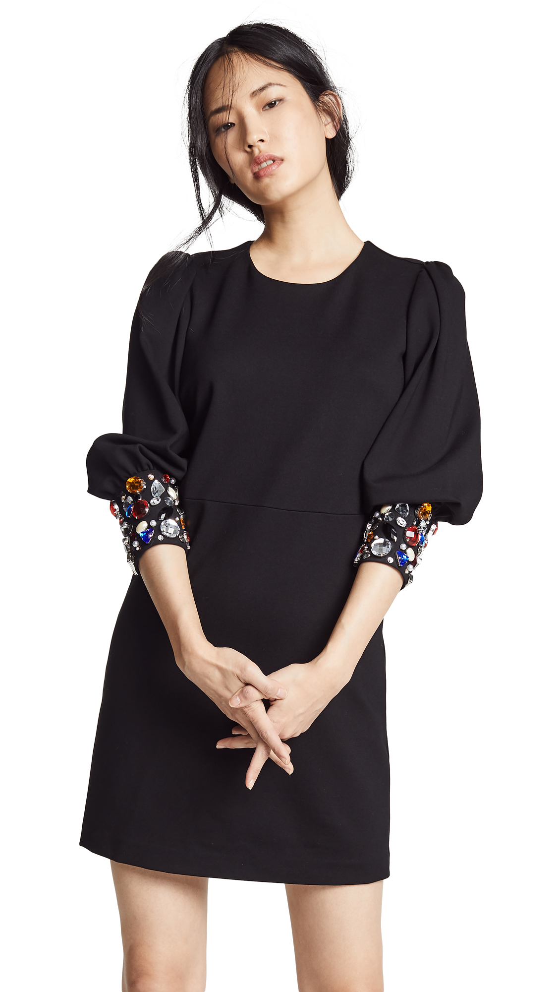 Veronica Beard Amery Dress In Black