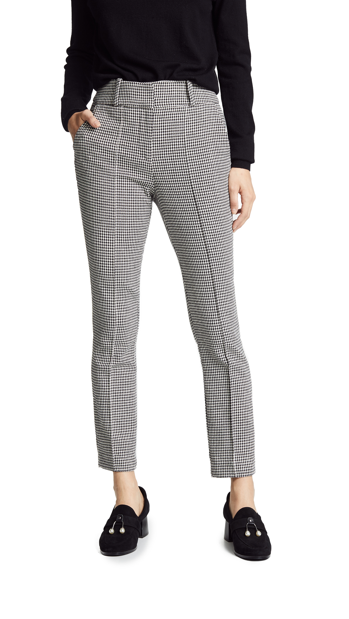 Veronica Beard Lago Trousers - Black/White
