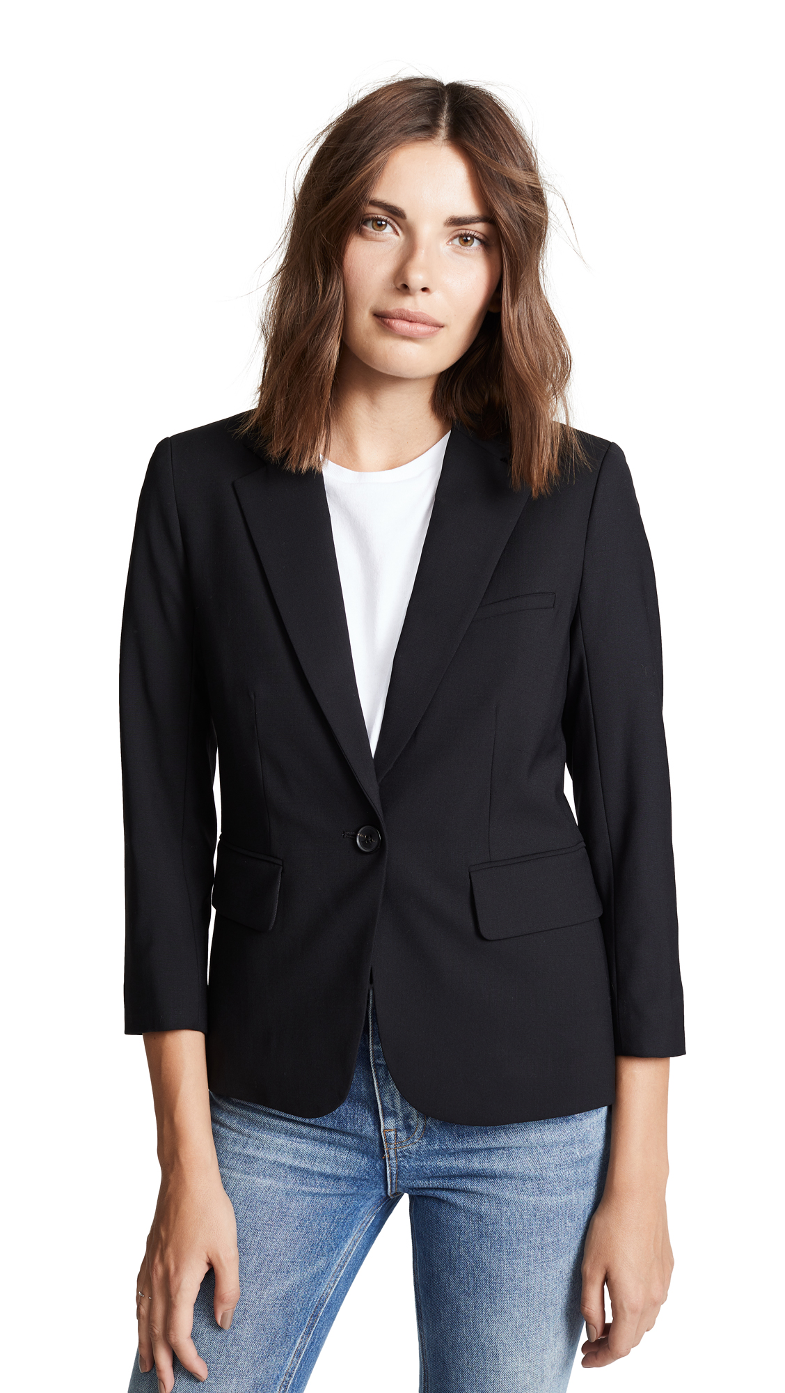 Veronica Beard School Boy Jacket In Black