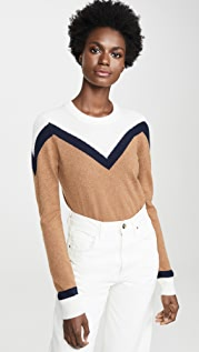 Veronica Beard Кашемировый пуловер Bradford
