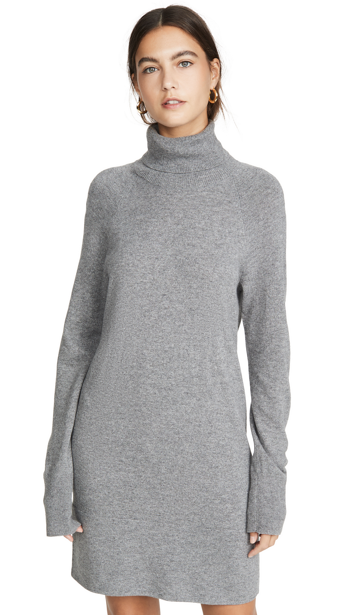 Buy Veronica Beard online - photo of Veronica Beard Saranac Turtleneck Mini Dress