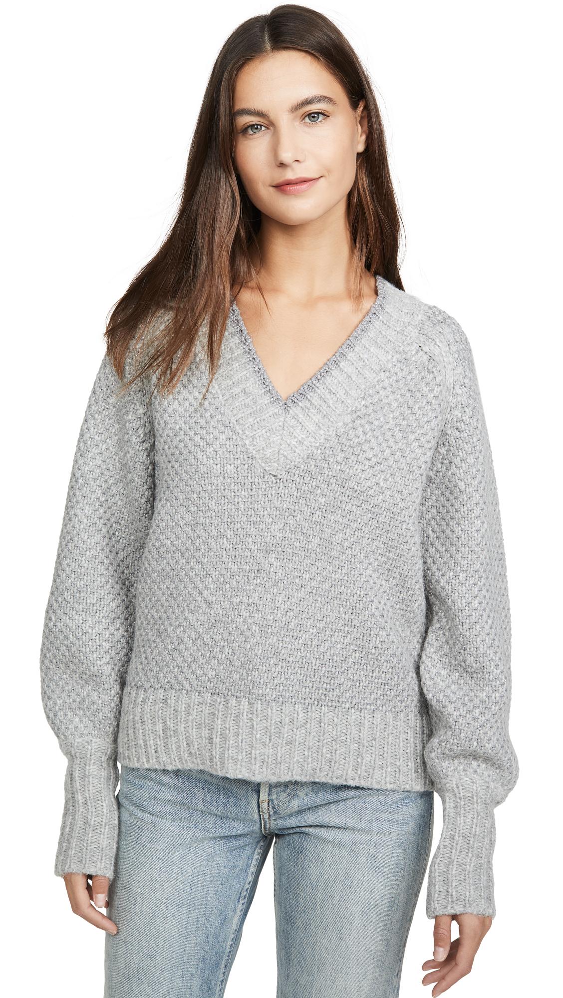 Buy Veronica Beard online - photo of Veronica Beard Mirnie V Neck Sweater
