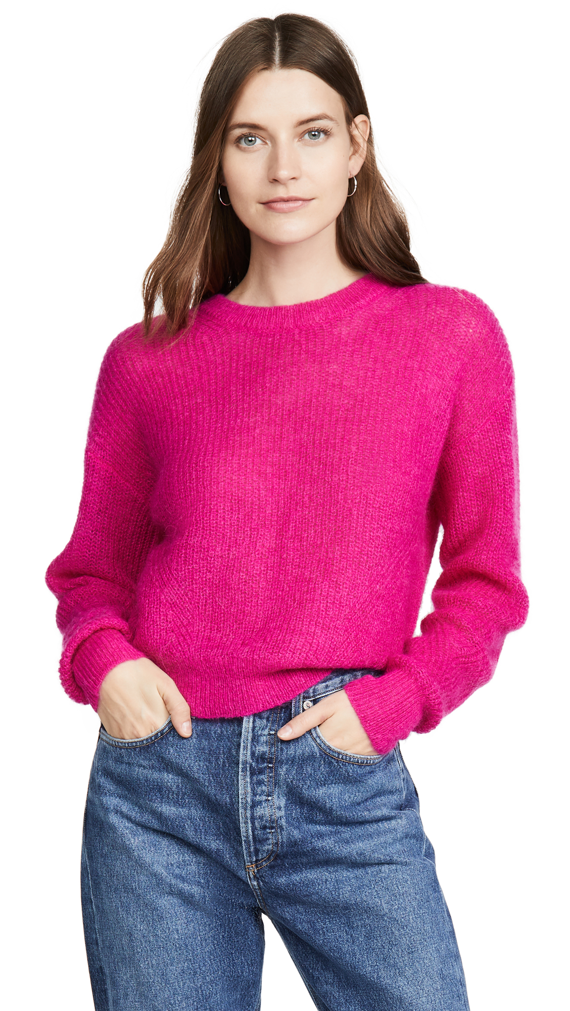 Buy Veronica Beard online - photo of Veronica Beard Melinda Crew Neck Sweater