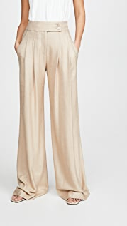 Veronica Beard Elijah Wide Leg Pants