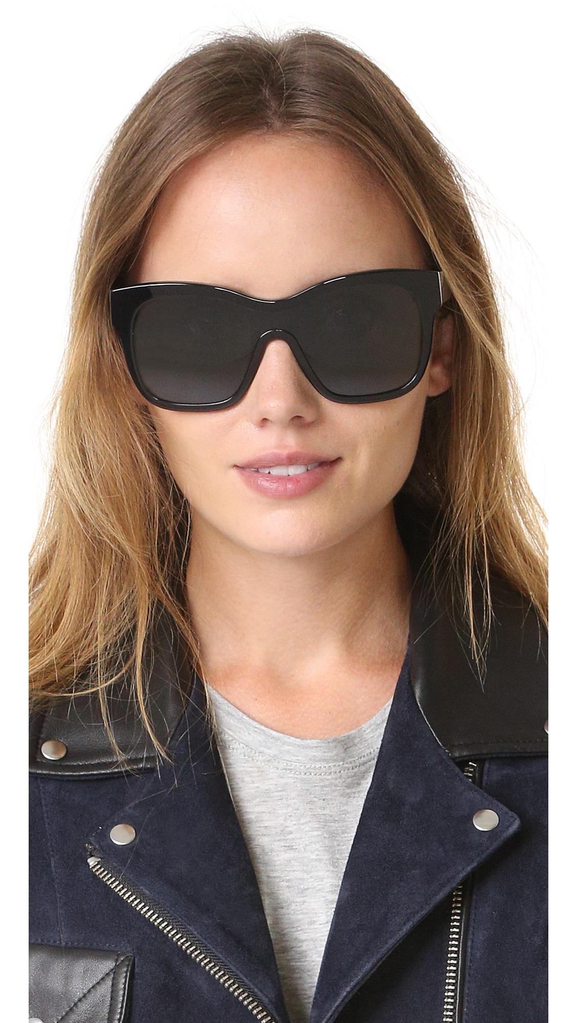 Gafas sol Visor Aviator Victoria de Beckham AAr58qvnw
