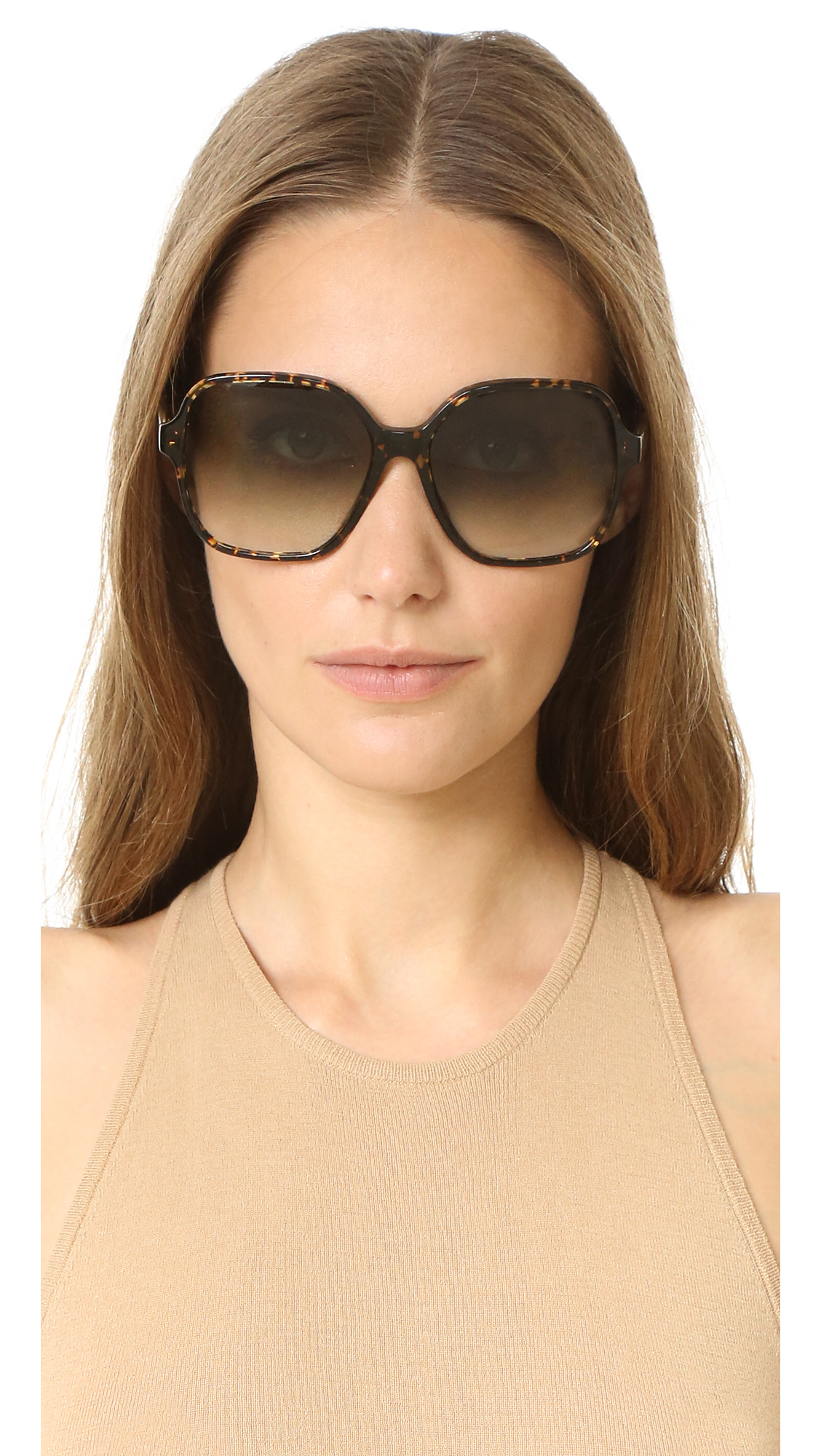 f5aec38b134 Victoria Beckham Iconic Square Sunglasses