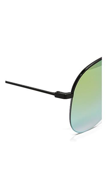 Victoria Beckham Warercolor Classic Victoria Sunglasses