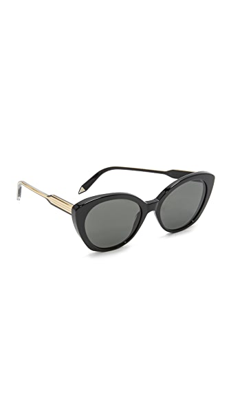 Victoria Beckham Kitten Sunglasses - Black/Grey