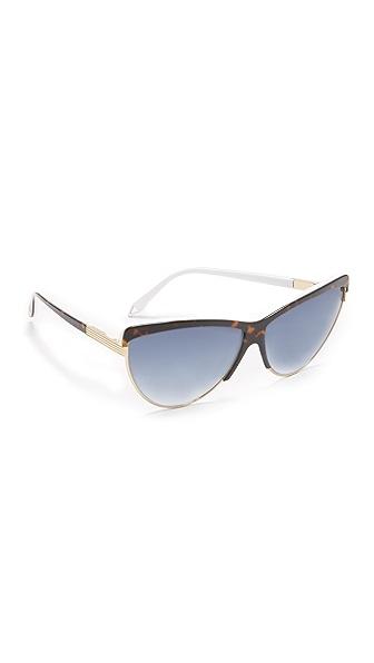 Victoria Beckham Combination Cat Sunglasses