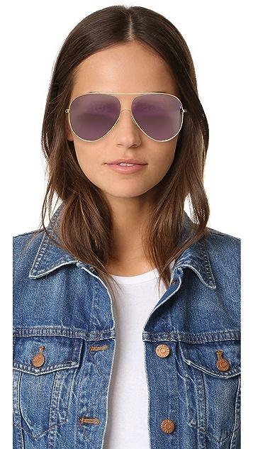 Victoria Beckham Loop Aviator Sunglasses