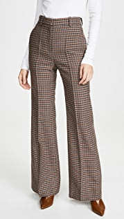 Victoria Beckham High Waisted Wide Leg Pants
