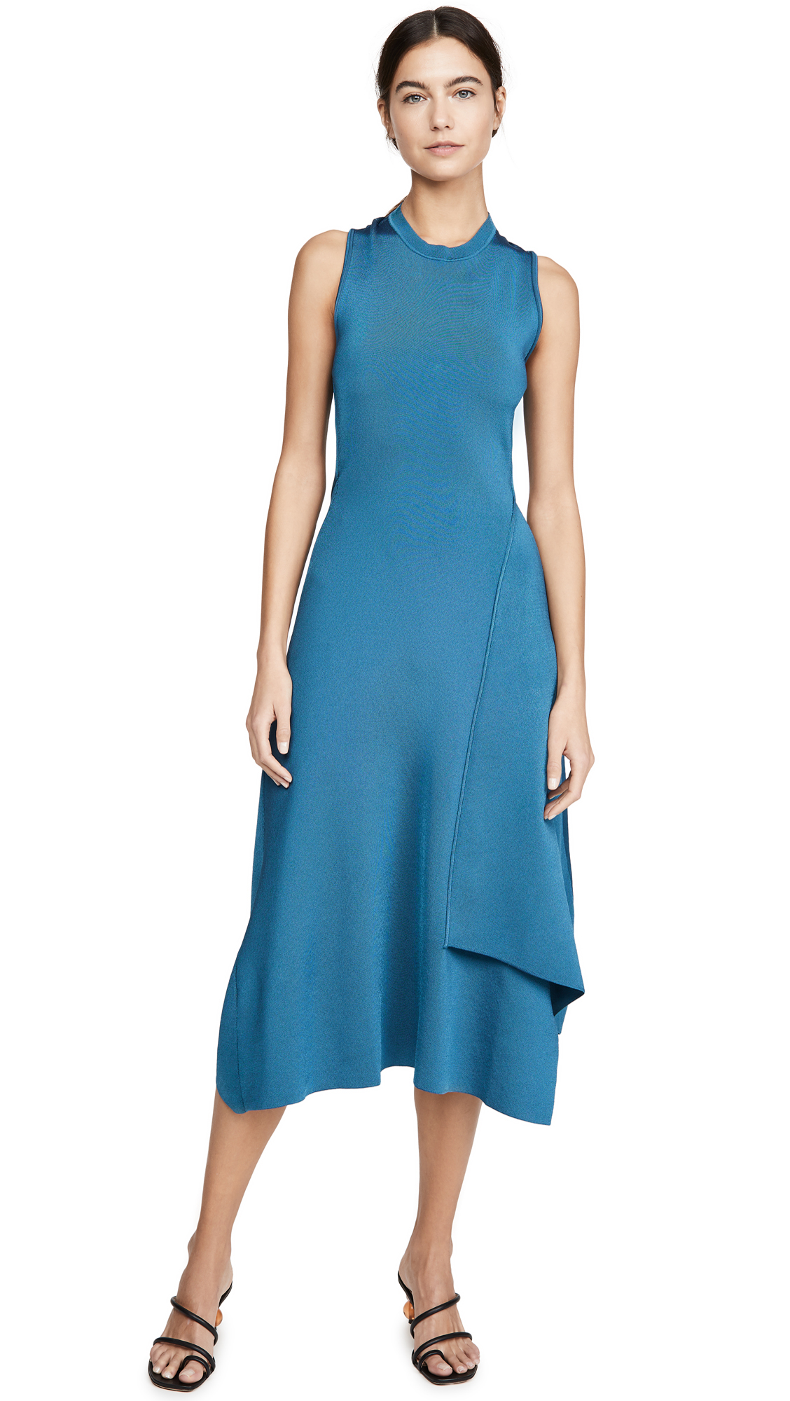 Victoria Beckham Twist Back Midi Dress - 50% Off Sale