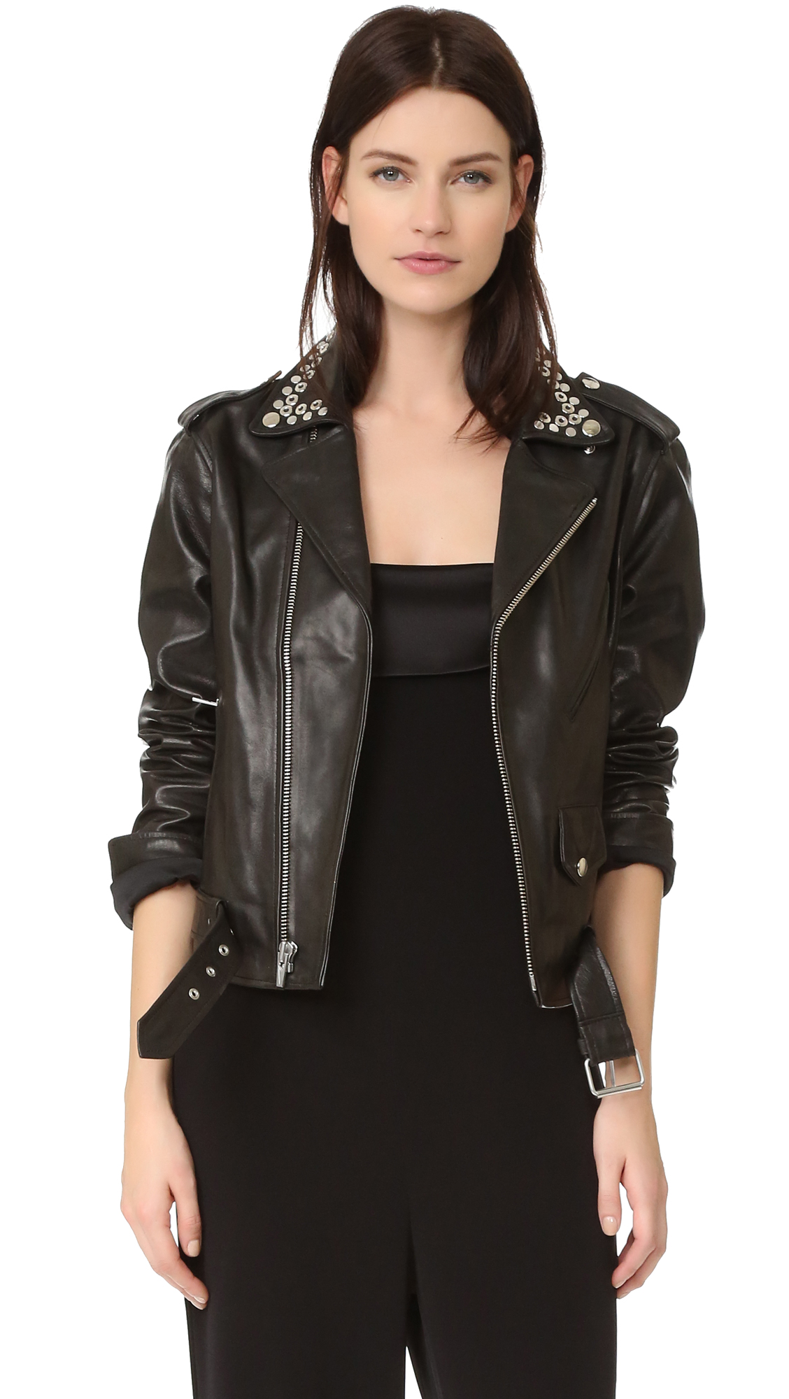 veda leather jacket overt nyc