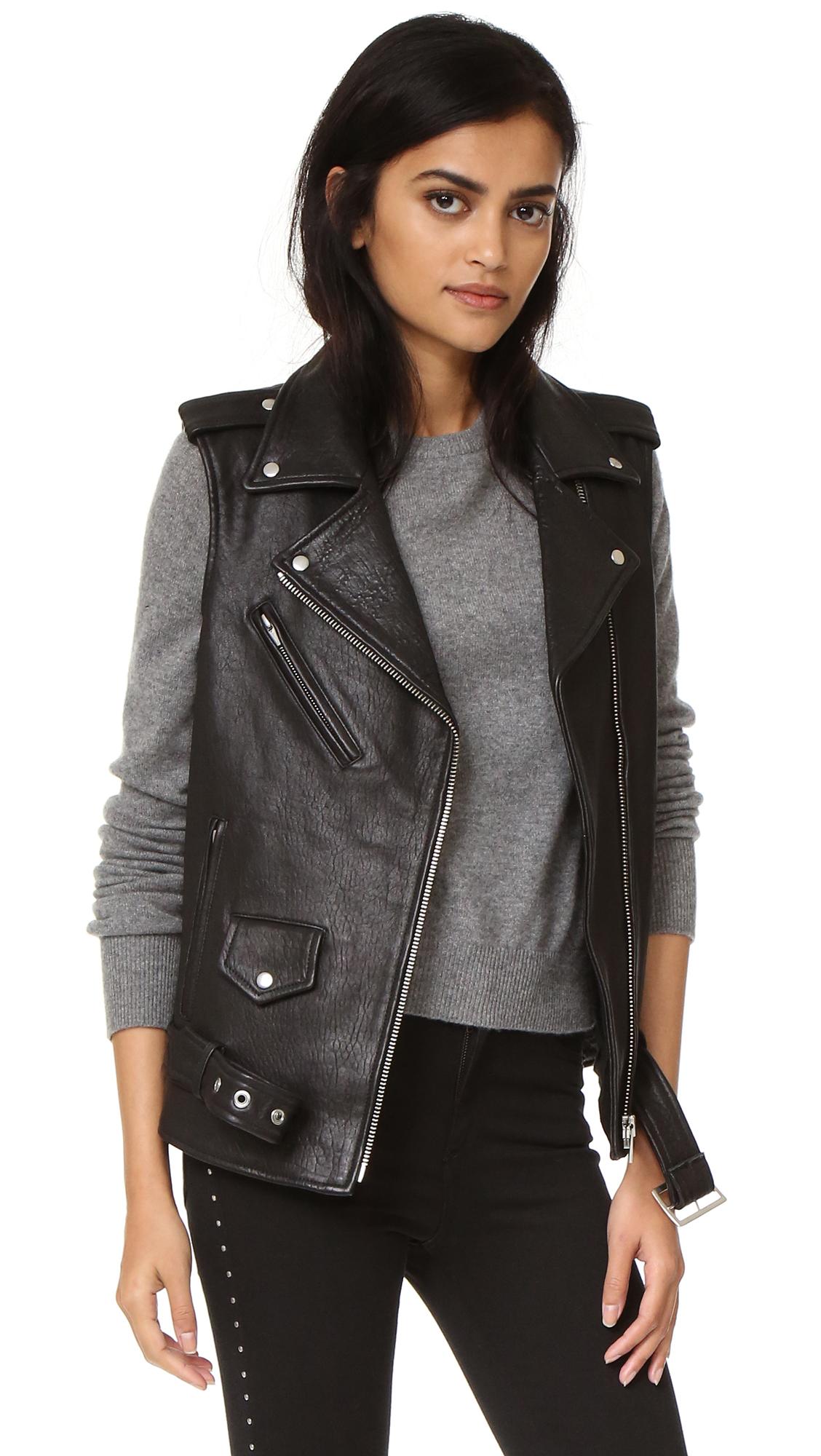 VEDA Castor Classic Vest In Black