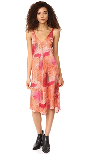 VEDA Carly Dress - Bright Fruit Bowl