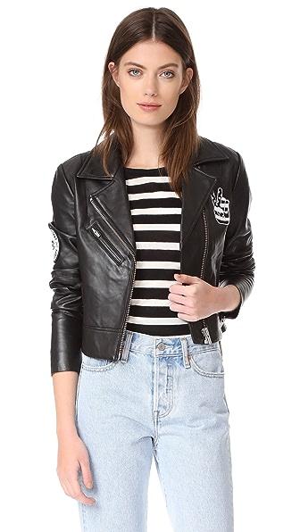 VEDA Nova Patches Jacket In Black