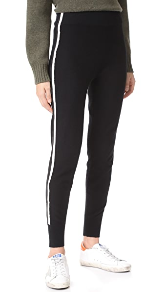 VEDA Cashmere Zone Pants - Black