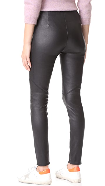 VEDA Leather Zero Leggings