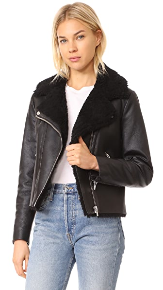 VEDA Noble Shearling Jacket