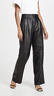 c6dae6286424b VEDA. Bess Leather Trousers